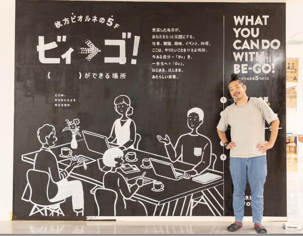 コワーキングスペースビィーゴロゴデザイン担当yuuさん