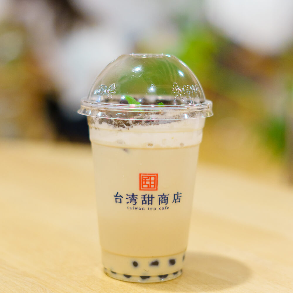 台湾甜商店 T-SITE店の盆栽ミルクティー