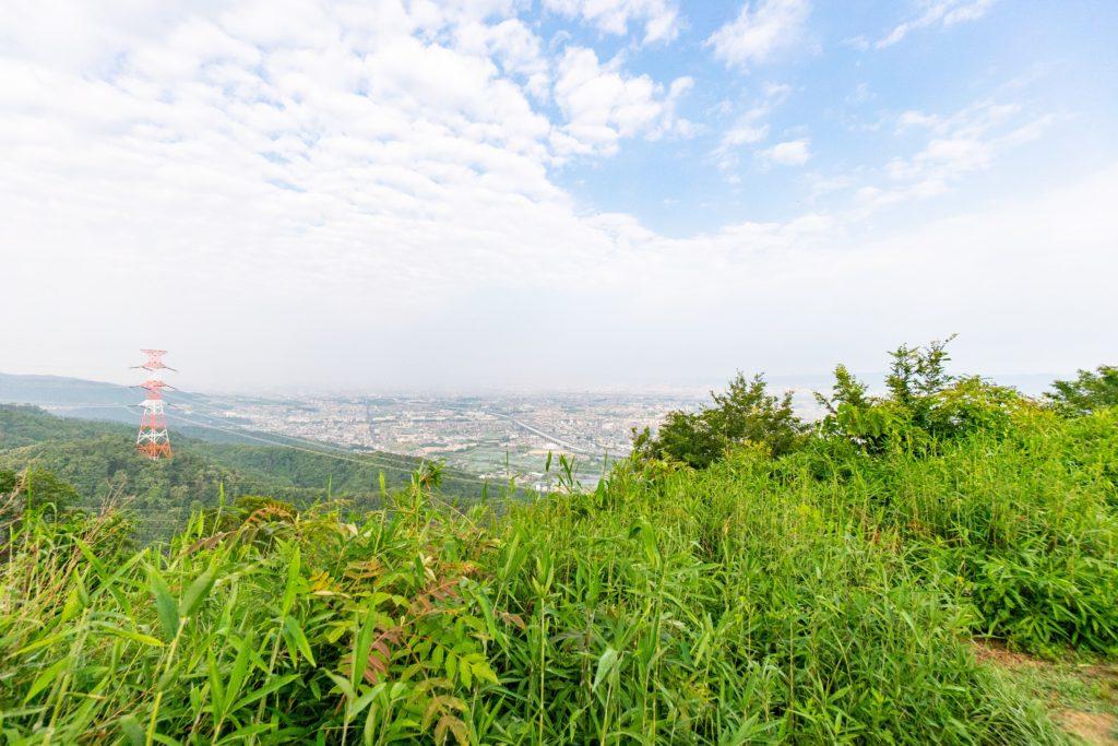 国見山の展望台